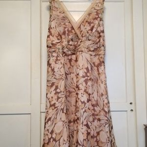 Dress Barn silk dress